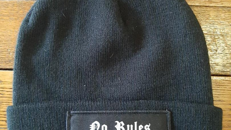 No Rules Born To Lose Beanie Hat