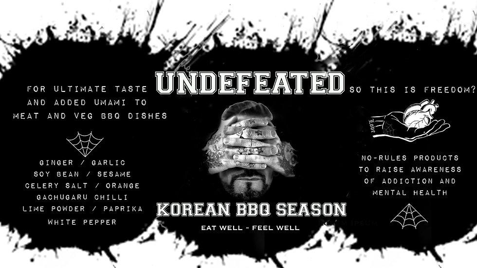 Undefeated Korean BBQ Season