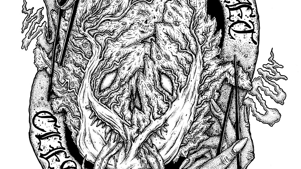 Street Cleaver A2 Print (Kimchi Monster)