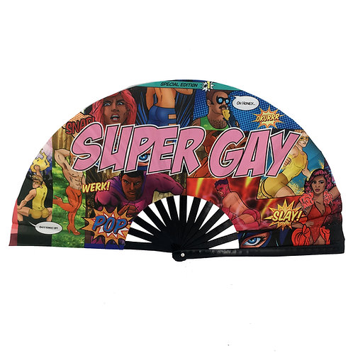 SUPER GAY FAN