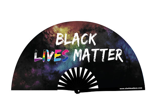 BLACK LIVES MATTER FAN