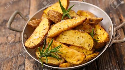 RECEITA: batatas rústicas