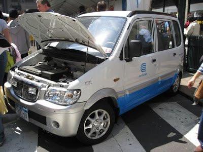 Çində elektromobillərin sayı artıb