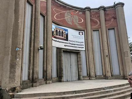 Азербайджанский театр в Дербенте нужно построить заново