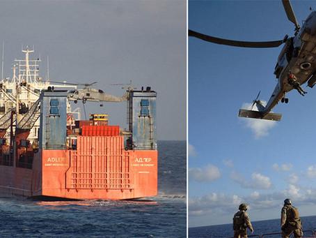 Спецназ НАТО высадился на российский корабль