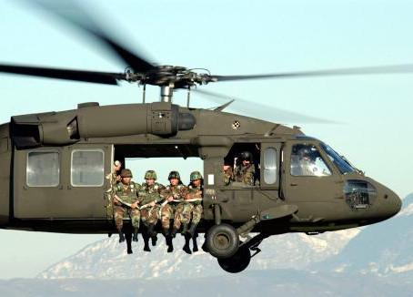 ABŞ Gürcüstana  döyüş helikopterləri ilə gəlir