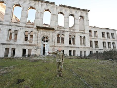 Шуша – город вандализма армянских националистов