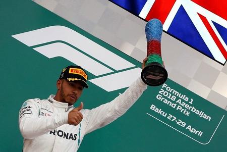 Formula 1 Azərbaycan Qran Prisinin qalibi  Lyuis Hamilton oldu