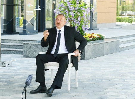 """İlham Əliyev:""""Məsləhət görürəm ki, onlar bu şərti qəbul etsinlər"""""""