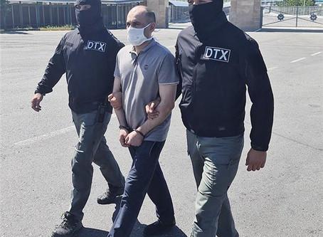 Terror-təxribat təlimləri alan şəxs tutularaq Azərbaycana gətirilib