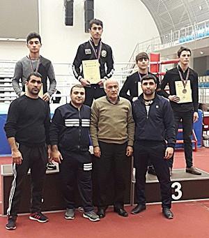 Astaralı boksçular respublika birinciliyində qızıl medal qazanıblar