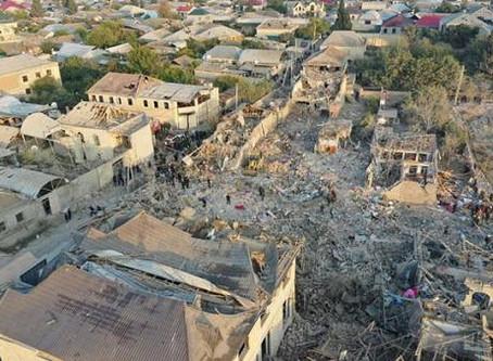 Ermənistan Gəncəyə yenə raket atdı: 12 ölüm, 40-dan çox yaralı