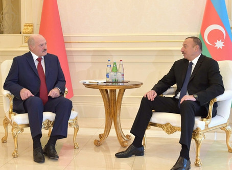 İlham Əliyev Aleksandr Lukaşenkonu  təbrik edib
