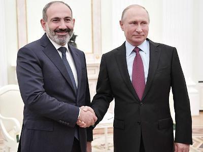 Paşinyan Moskvada Putinlə bu mövzuları müzakirə edəcək