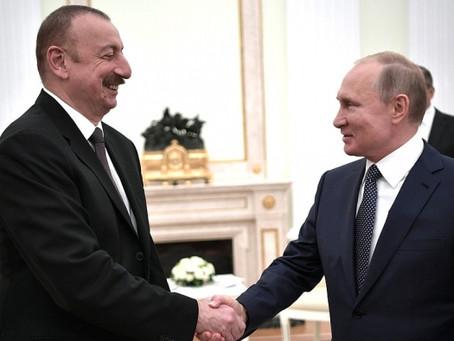 Путин поддержал Азербайджан