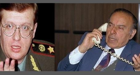 Heydər Əliyev Rusiyanın nüfuzlu generalını necə susdurdu...