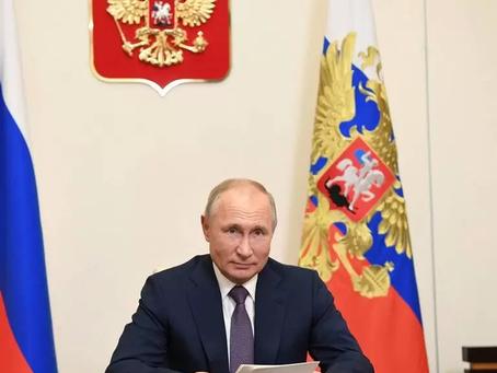 Путин назвал авторов текста по Карабаху