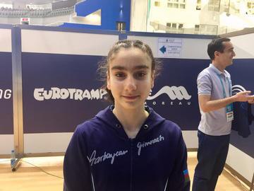 Azərbaycan gimnastı Avropa Çempionatının finalına çıxdı