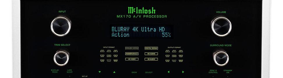 McIntosh MX170 Processeur Home Cinéma
