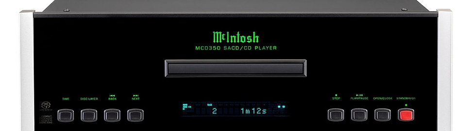 McIntosh MCD350 Lecteur CD/SACD