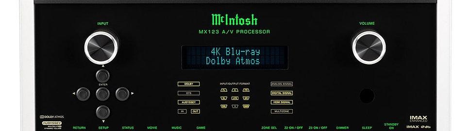 McIntosh MX123 Processeur Home Cinéma