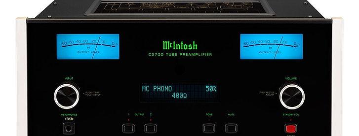 McIntosh C2700 Préamplificateur  à tubes