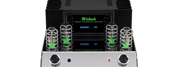 McIntosh MA252 : L'Intégré  de 160 watts