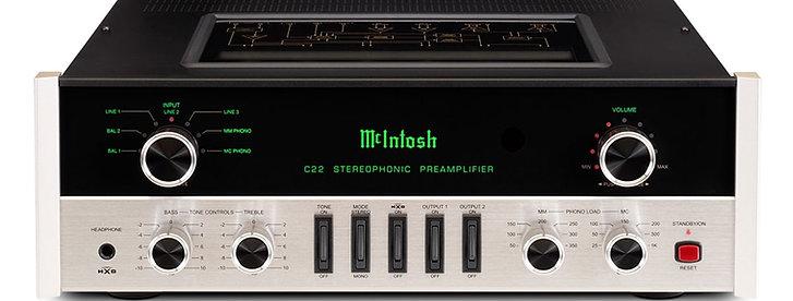McIntosh C22 Préamplificateur  à tubes