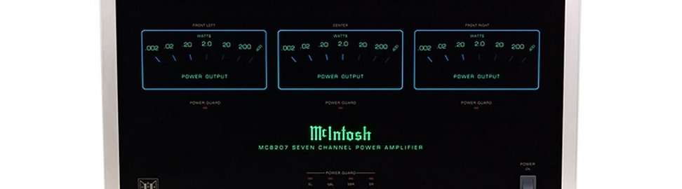 McIntosh MC8207 Amplificateur  à 7 canaux