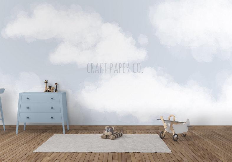 Pamuk Bulutlar Duvar Kağıdı