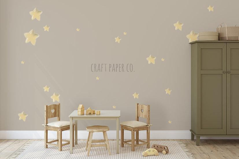 Yıldızlı Duvar Kağıdı