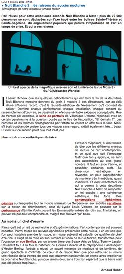 veronique-l-hoste-article-la-plume-culturelle-2009