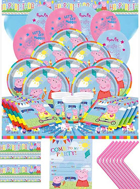 Move with Peppa Party & Venue Decorating Box.