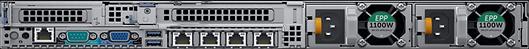 HPC-ProServer DPeR640 back