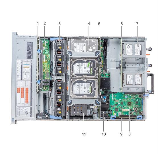 HPC-ProServer DPeR740XD inside