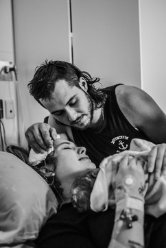 Mum-and-Dad-celebrating-the-we-did-it-moment-of-birth-perth-birth-photographer