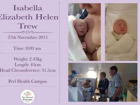 Birth of Baby Trew   36 Week Natural   Peel Health Campus