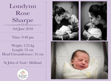Birth of Baby Sharpe | Natural | St John Of God Midland