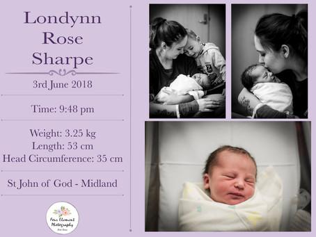 Birth of Baby Sharpe   Natural   St John Of God Midland