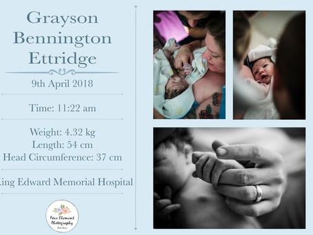 Birth of Baby Ettridge   Assisted Natural   King Edward Memorial Hospital