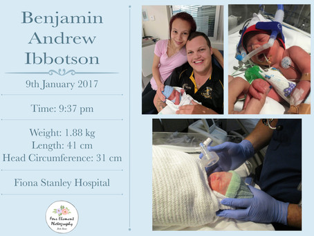 Birth of Baby Ibbotson   32 Week Forceps   Fiona Stanley Hospital