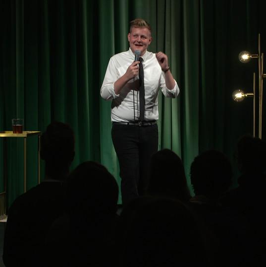 """Frederik Rosgaard, """"Måske for sidste gang""""."""