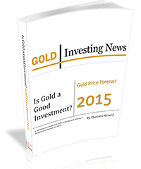 Free report on gold pricing and investing released by Gold Investing News