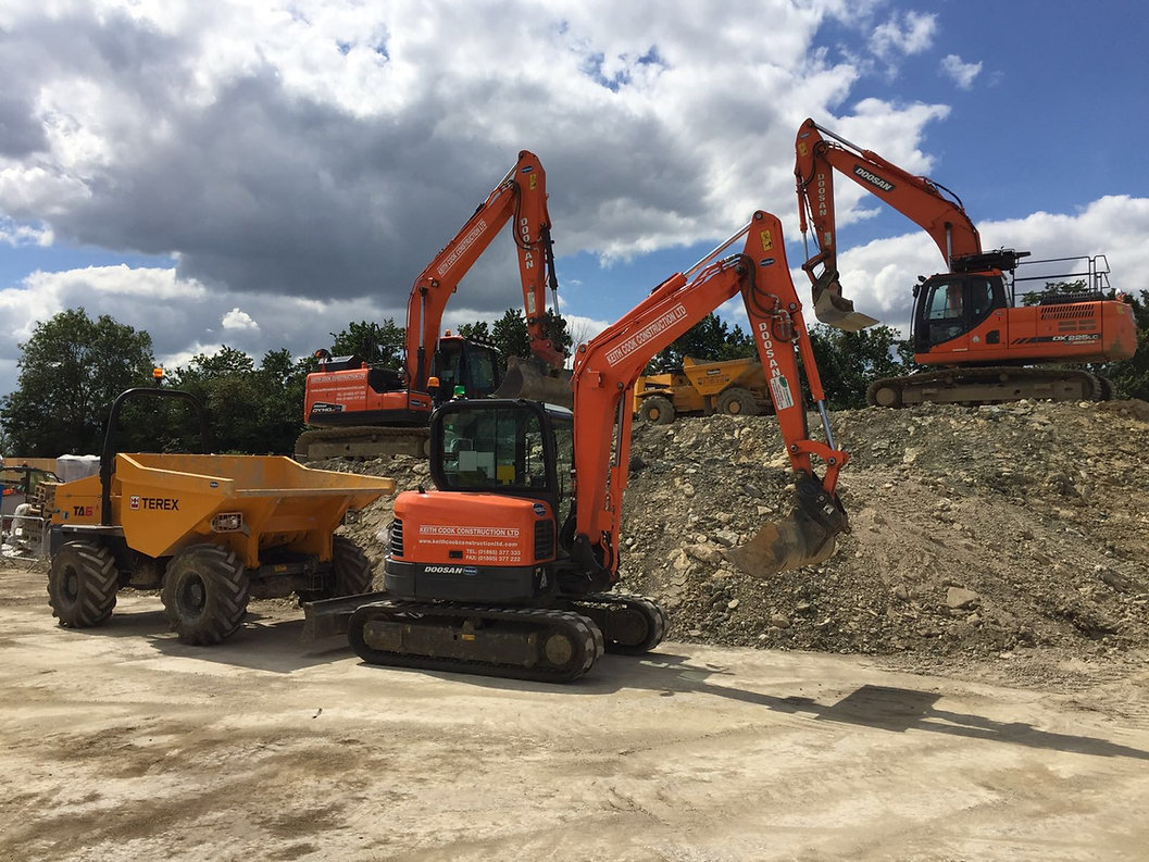 Groundworks Contractors Oxfordshire