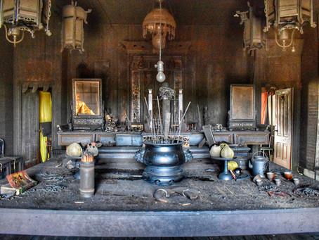 Historic Taoist Temple Fire