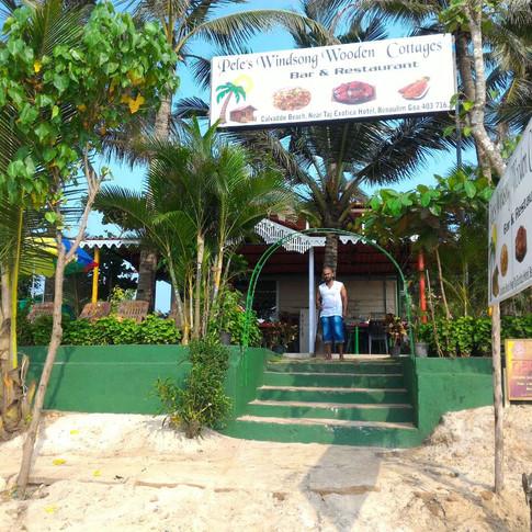 Аюрведа центр Ом-Намасте. Выход на пляж Бенаулим