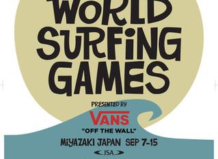 2018 ISA WORLD SURFING GAMES