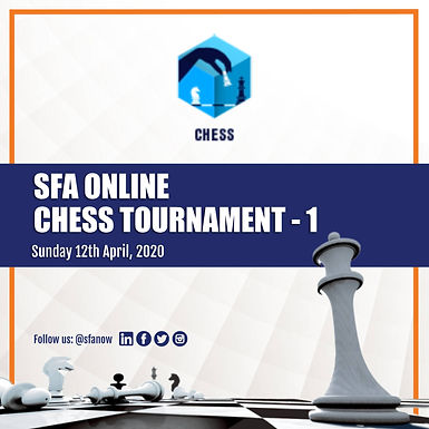 SFA Online Chess Tournament 1