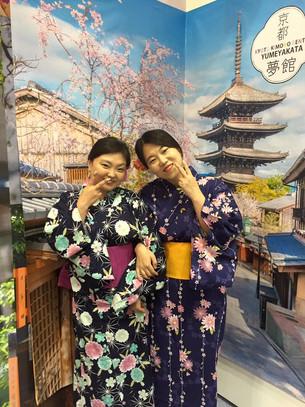 6/9~6/12 HANA TOUR 여행박람회 유카타 체험 고객님