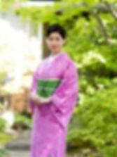 기모노풍 유카타